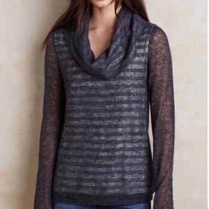 Anthropologie MOTH Cowl Neck Wool Alpaca Sweater